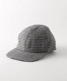<Steven Alan>CHECK CUCK FLAT BILL CAP/キャップ ◆