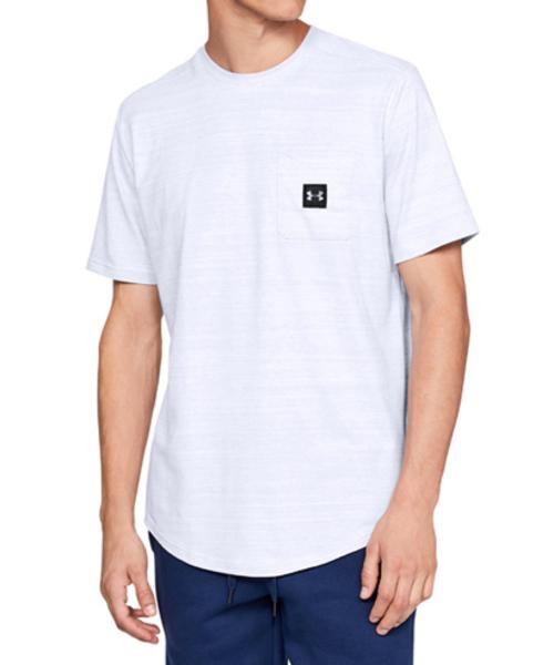 メンズ ライフスタイルT半袖シャツ /  スポーツスタイルポケットT半袖シャツ
