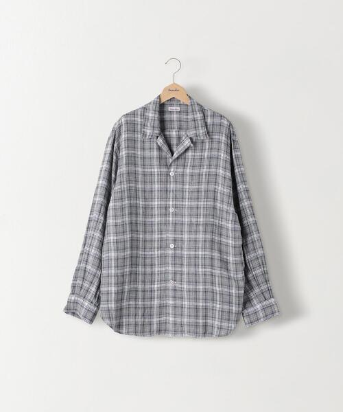 <Steven Alan>MONTI OPEN COLLAR DROP SHIRT-BOLD/シャツ