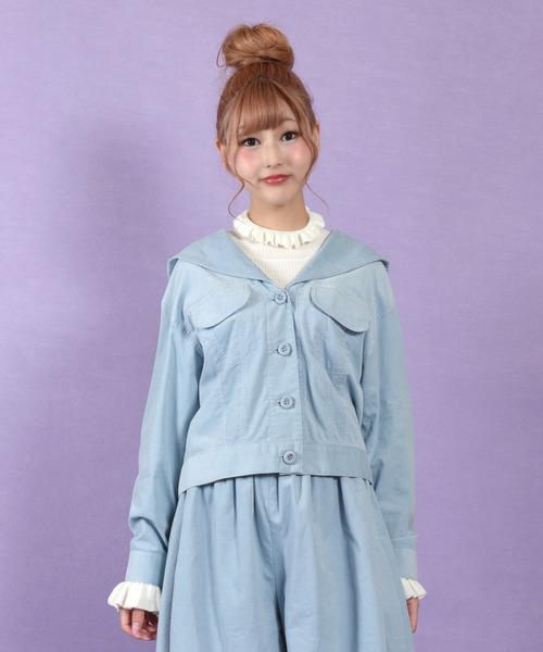 【返品送料無料】 GIRLS ジャケット, 京せんす 風香扇 b9204337