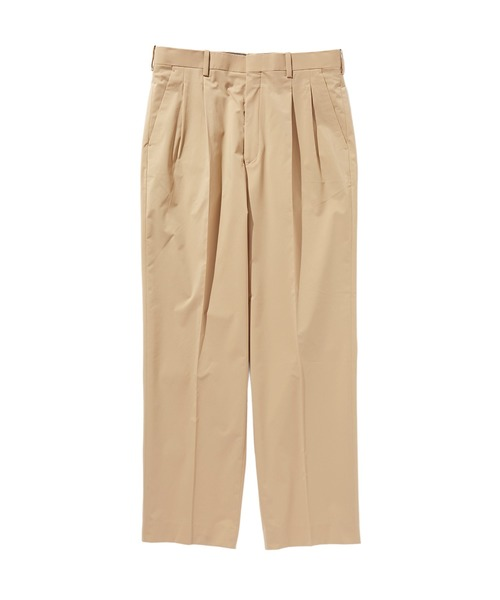 SPRING2020 2TUCK TAPERED SLACKS