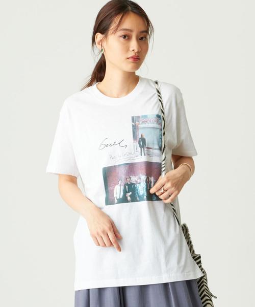 GOOD ROCK SPEED(グッド ロック スピード) GODLIS カラーフォトTシャツ