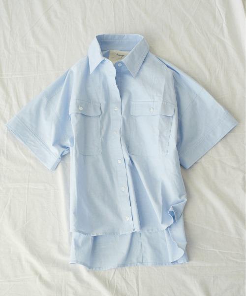 OXワイドシャツ