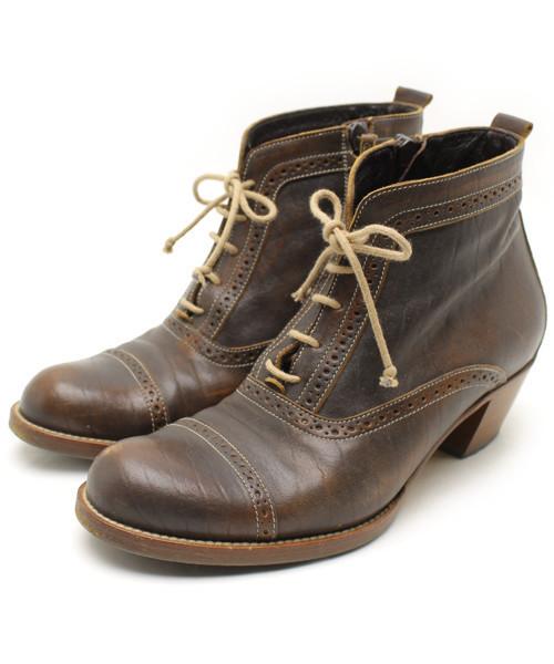 【日本製】 【ブランド古着】ショートブーツ(ブーツ) HENRY|HENRY CUIR(アンリークイール)のファッション通販 - USED, 割引:2d313e6f --- dpu.kalbarprov.go.id