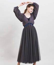 la belle Etude(ラベルエチュード)の【LA BELLE ETUDE】【Belle vintage】Nia dress(ドレス)