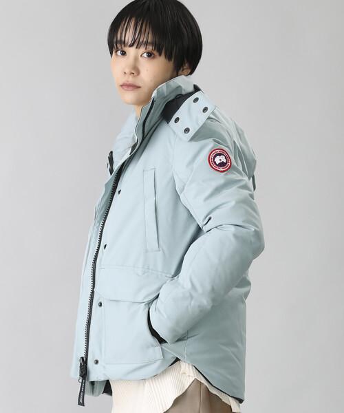 大人女性の ●CANADA GOOSE/カナダグース BLAKELY PARKA/ブレークリーパーカー(ダウンジャケット、ダウンコート)(ダウンジャケット STORE/コート) PARKA|FREAK