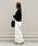 AZUL ENCANTO(アズールエンカント)の「【洗濯機で洗える】片畦編みニュアンスハイネックニット(ニット/セーター)」 詳細画像