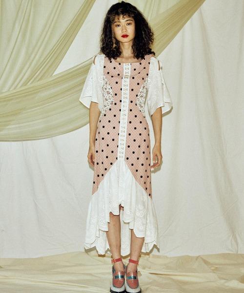 PAMEO POSE(パメオポーズ)の「Chimera Dress(ワンピース)」|ピンク