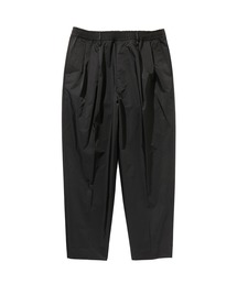 SPRING2020 2TUCK TAPERED EASY PANTSブラック