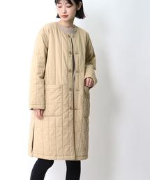 【 MONT KEMMEL / モンケメル 】QUILTED COAT キルティングコートベージュ