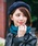 Bello(ベッロ)の「【Bello】MULTI COLOR WOOL BERET(ハンチング/ベレー帽)」|ネイビー