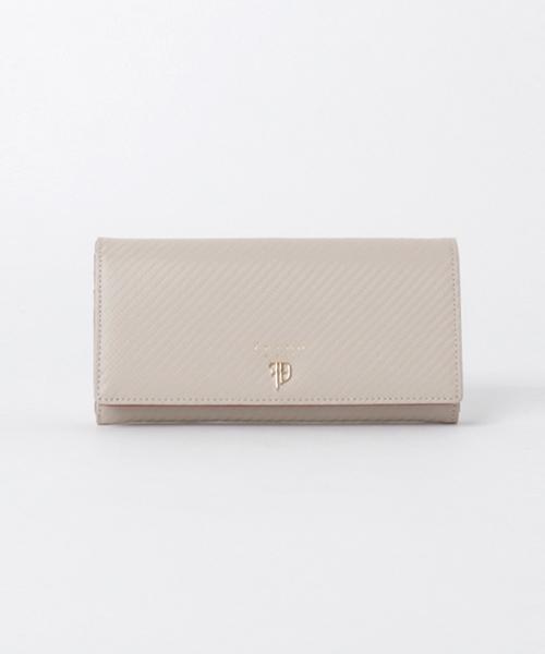 Furbo design(フルボデザイン)の「【Furbo design】 フルボデザイン ギア・カーボンライン 長財布(財布)」|ホワイト