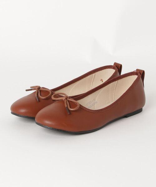 SVEC(シュベック)の「バレエシューズ SVEC / シュベック ballet shoes(バレエシューズ)」|ブラウン