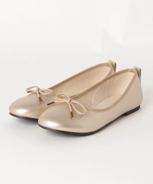 SVEC(シュベック)の「バレエシューズ SVEC / シュベック ballet shoes(バレエシューズ)」|ゴールド