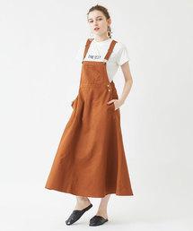 titivate(ティティベイト)のフレアジャンパースカート(ジャンパースカート)