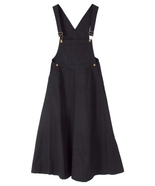 563bf1cbf48ef titivate(ティティベイト)のフレアジャンパースカート(ジャンパースカート)