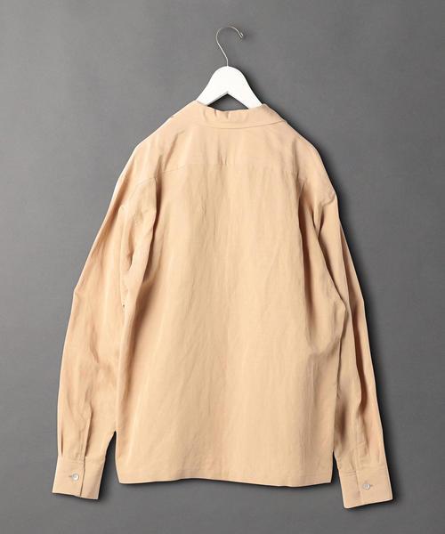 <6(ROKU)>OPEN COLLAR SHIRT/シャツ