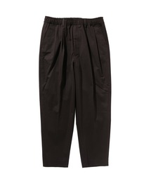 SPRING2020 TAPERED EASY PANTSブラック