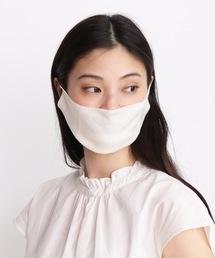 【warmth/ウォームス】シルクマスク (重ねるマスク)WSTホワイト