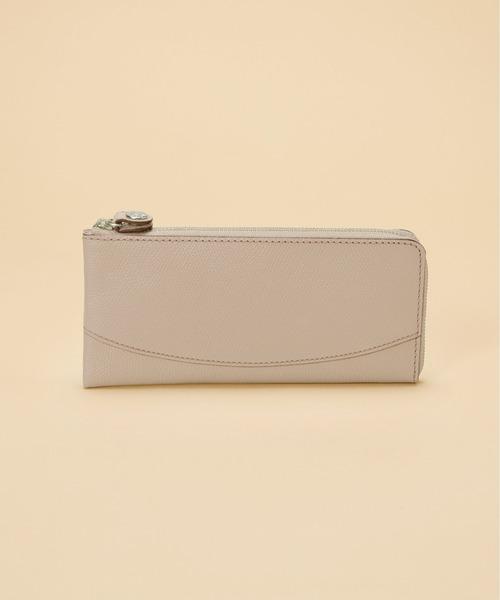 lowest price 54a61 21e18 COLORATO[コロラート]角シボ型押し・Lファスナー長財布
