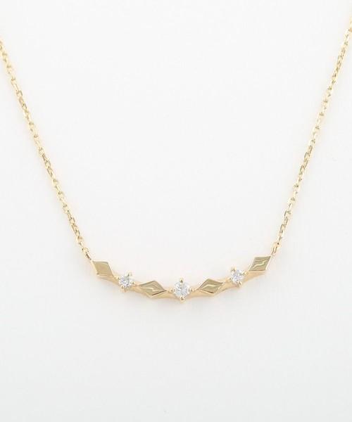 2019年最新海外 K10YGレイヤー ダイヤパターン ネックレス(ネックレス)|ete(エテ)のファッション通販, 粕屋町:54b799e7 --- blog.buypower.ng