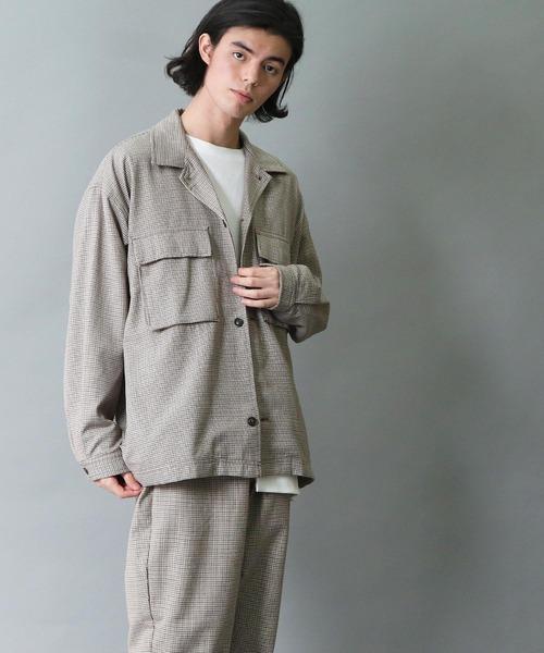 【 tripper / トリッパー 】 ビッグシルエット CPOジャケット シャツジャケット 《セットアップ対応》
