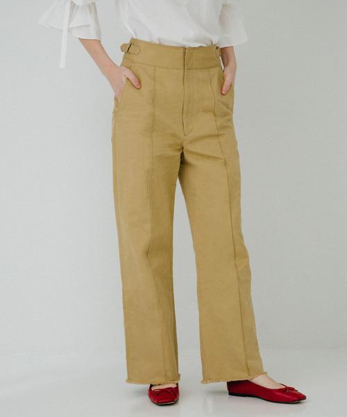史上一番安い PUBLICコットンリネンストレートパンツ(チノパンツ)|PUBLIC TOKYO(パブリックトウキョウ)のファッション通販, ぼらんち【VOLANTE】:8da765a8 --- arguciaweb.com