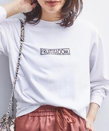 FRUIT OF THE LOOM(フルーツオブザルーム)の【別注】FRUIT OF THE LOOM × EMMEL REFINES フルーツプリントロンT(Tシャツ/カットソー)