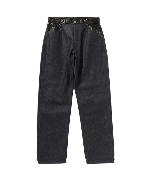 SPRING20120 TAPERED DENIM PANTS