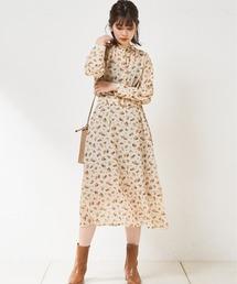 natural couture(ナチュラルクチュール)の【WEB限定カラー有り】2WAYきれいめワンピース(ワンピース)