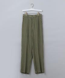 <6(ROKU)>TSUBU PRINT PANTS/パンツ