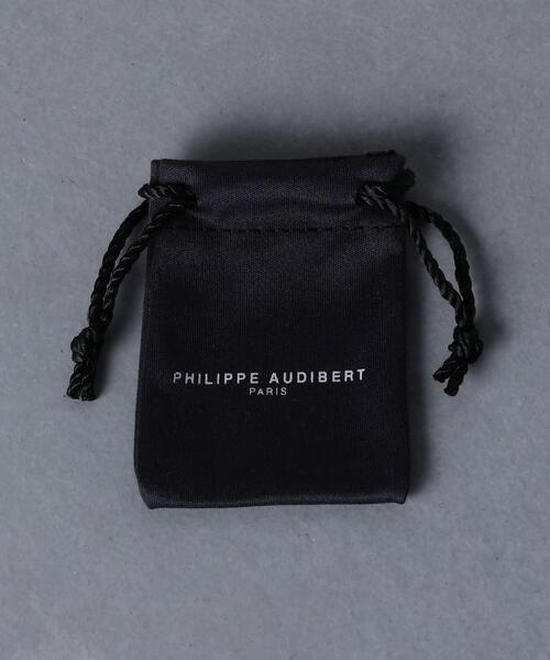 PHILIPPE AUDIBERT(フィリップ オーディベール)の「<PHILIPPE AUDIBERT(フィリップオーディベール)>ISAIA ピアス(ピアス(両耳用))」|詳細画像