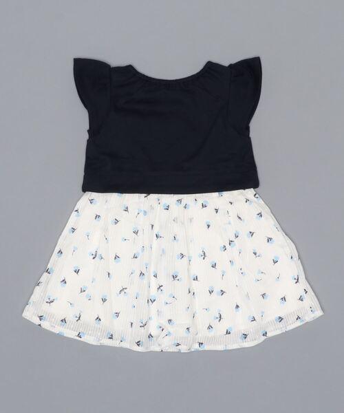 kate spade new york childrenswear(ケイトスペードニューヨーク)の「インファント?トドラー  ガーデンディッツィーミックスメディアドレス(ワンピース)」|詳細画像