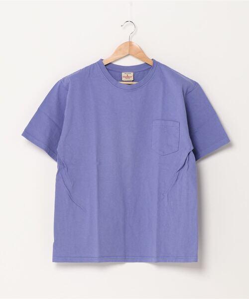 【 Goodwear /  グッドウェア 】# レギュラーフィット半袖クルーネック ポケットTシャツ