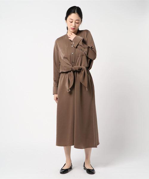 【おすすめ】 【セール】サテンシャツワンピース(ワンピース) sophila(ソフィラ)のファッション通販, マルツオンライン:afd5106f --- skoda-tmn.ru