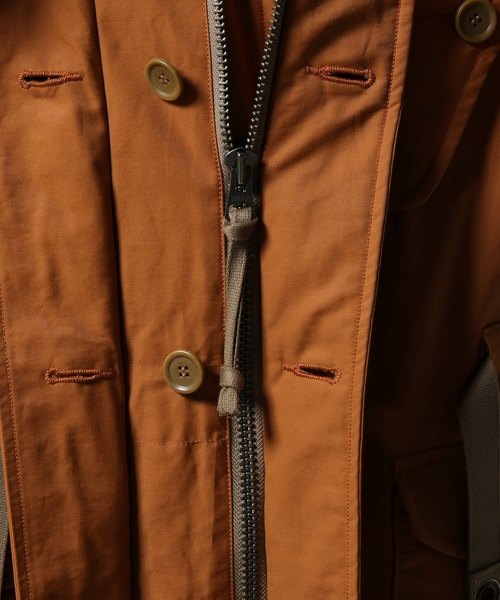 C/N TWILL PATTED PARKA #