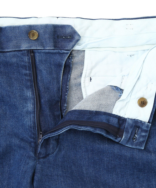 marka / マーカ:2TUCK SLIM TAPERED FIT - denim -:M19A-02PT01C[COR]