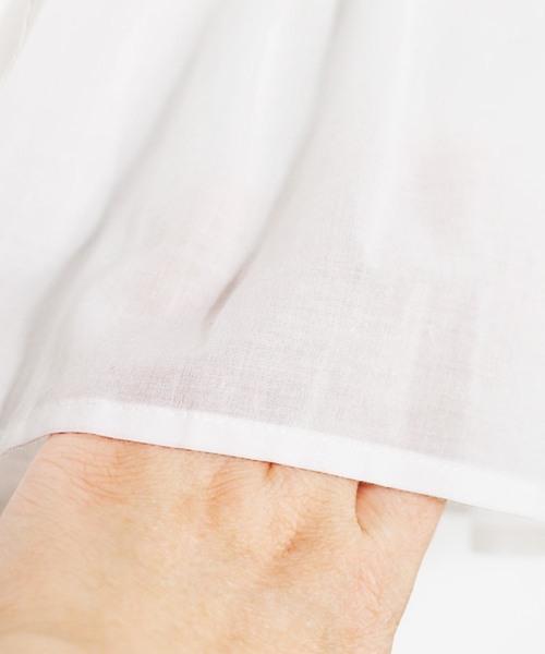 ティアード半袖ワンピース
