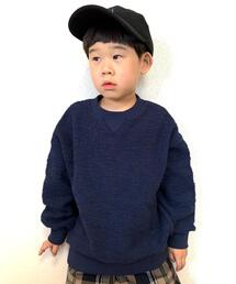【coen キッズ / ジュニア】ブークレーパイルプルオーバー(トレーナー)