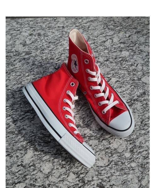 CONVERSE(コンバース)の「converse コンバース ALL STAR HI オールスター ハイ 3206 RED(US)(スニーカー)」 レッド