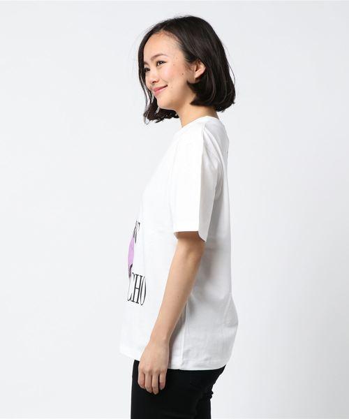 ROCKET×LUNCH/ロケットランチ/HalfLogo T-Shirts