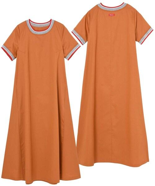 RIB FLARE DRESS