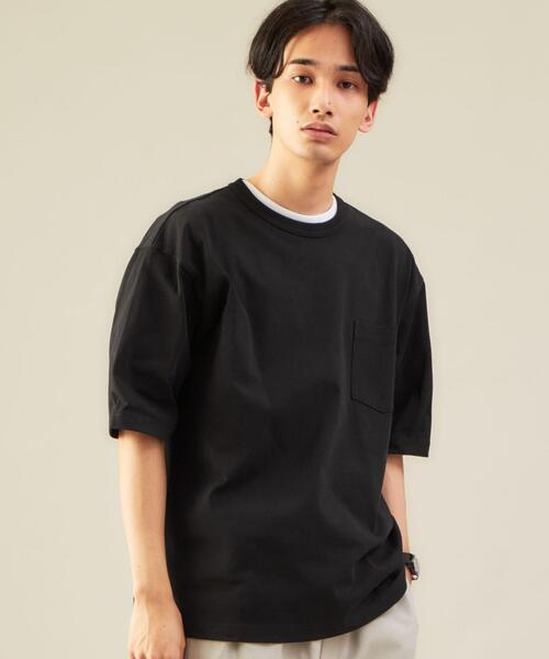 SC オーガニック ヘビーウェイト クルーネック 半袖 Tシャツ カットソー