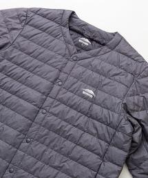 軽量ダウン インナージャケット 撥水透湿防風ポケッタブル(パッカブル)700フィルパワーチャコールグレー