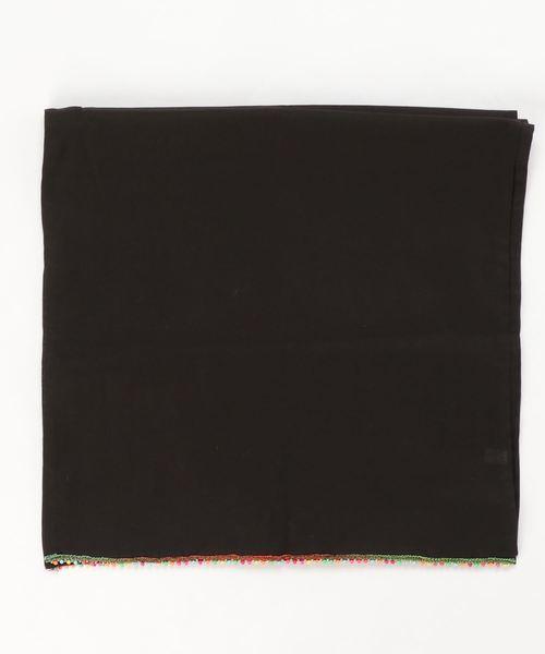 【 JABURO / ジャブロー 】beads stole ビーズストール スカーフ