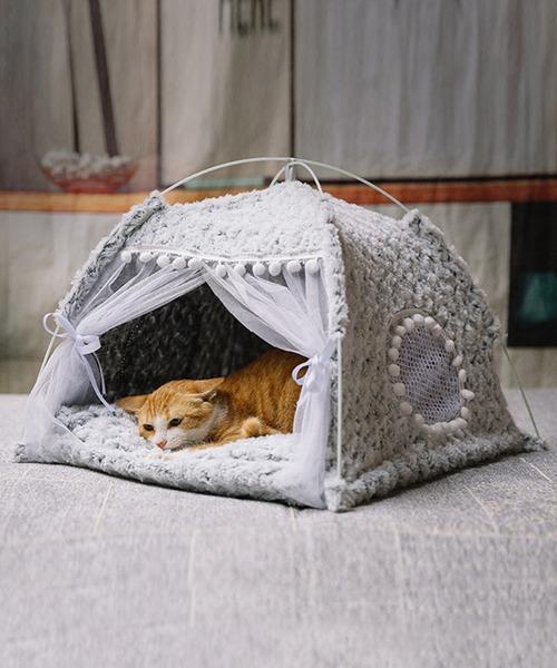 ペット用テント型ベッド