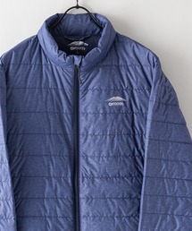 軽量ダウン スタンドライトジャケット 撥水透湿防風ポケッタブル(パッカブル)700フィルパワーネイビー