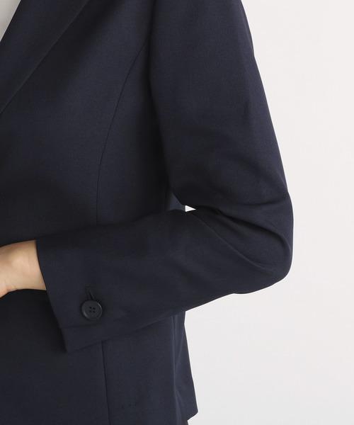 Linonシャンブレー ジャケット