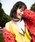 HURRI CURRI  (ハリクリ)の「【HURRI CURRI】'teeny' ボーダーパターンスカーフ(バンダナ/スカーフ)」|ネイビー