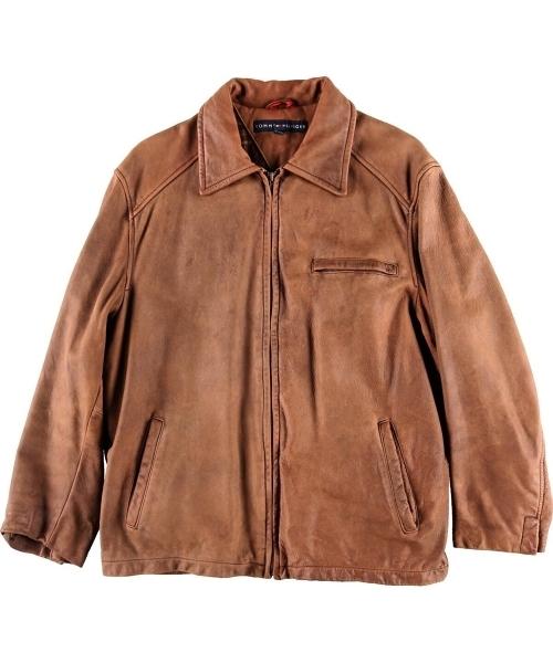 【高額売筋】 【ブランド古着】レザースポーツジャケット(その他アウター) TOMMY TOMMY HILFIGER(トミーヒルフィガー)のファッション通販 - USED, FAUbon:86b8e7c0 --- altix.com.uy